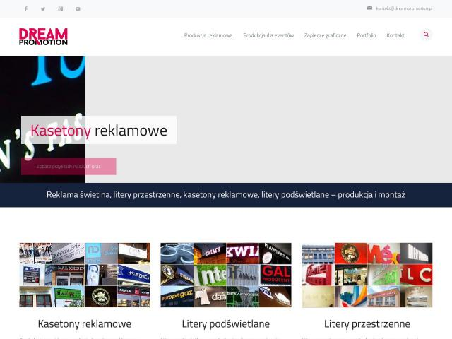Reklamy neonowe - Dream Promotion